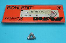 External Carbide Thread Insert 16ER 1.50 HB10S K10