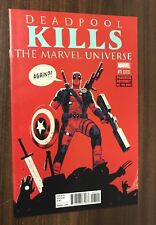 DEADPOOL KILLS THE MARVEL UNIVERSE AGAIN #1 -- Walsh Variant -- NM- Or Better