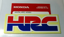 ORIGINAL Honda HRC Aufkleber-Sticker-8,5cm x 3cm-Logo-Emblema-Decal-85mm x 30mm