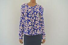 DVF Diane Von Furstenberg Cashmere Silk Cardigan Sweater Size M Ibiza EUC
