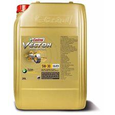 (6,12€/L) CASTROL VECTON FUEL SAVER 5W-30 E6/E9 MOTOR-ÖL 20 LITER 154C28
