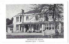 HUNTER'S QUAY Dunoon, Ardenslate Hotel, Old Postcard Unused