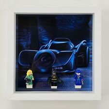 Display Case Frame for Lego Batman 1989 Batmobile minifigures 76139 no figures