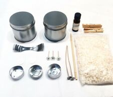 Soy Wax 5 Candle Making Kit with Vanilla Fragrance & Full Instructions