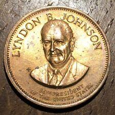 JETON PRÉSIDENT AMÉRICAIN LYNDON B. JOHNSON (356)