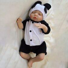 "Handmade Silione Vinyl 19"" Reborn Baby Dolls Lifelike Newborn Kids Babies Gifts"