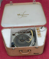 Vintage Magnavox Portable Stereo Micromatic Turntable.