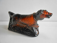 "FLACON AVON 145ML VIDE   "" CHIEN SETTER "" /  DOG PERFUME BOTTLE ( empty)"