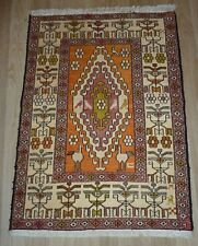 SILK Handmade Kurdish Shahsavan Soumak Caucasian Antique Kilim-Other Pair Listed