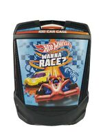 Mattel Hot Wheels Rollin' 100 Car Carrying Case with Hide-A-Way Handle, Black