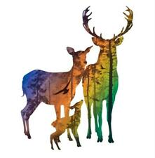 Weihnachten Hirsch Metall Stencil Cutting Dies Scrapbooking Stanzschablone Album