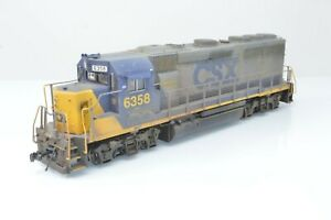 Atlas Master HO Gauge - 10 000 387 GP-40-2 Locomotive CSX Road #6358 - Boxed