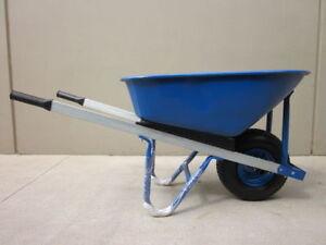 Wheel Barrow Metal Tray 100L 120KG New