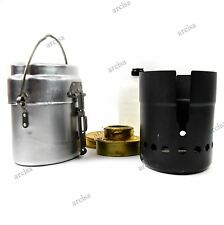 NEW Swedish army Trangia Stove Camp Cooker burner Military Aluminium mess kit