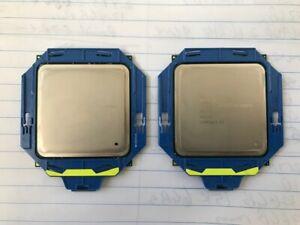 (LOT OF 2) INTEL E5-2609 V2 CPU'S @ 2.50GHz 10MB 6.4GT/s SOCKET: FCLGA2011