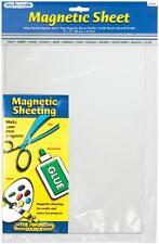 07087 WHITE FLEXIBLE MAGNETIC SHEET