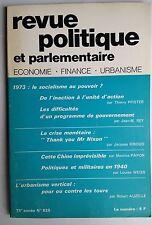 Revue Politique et Parlementaire 10/1971; Cette Chine imprévisible/ Crise monait