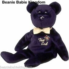 TY Beanie Babies The End Bear With Tag 1999 1bd975c88111