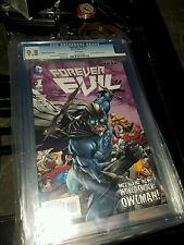 Forever Evil #1 (November 2013, DC) Owlman owl man alternative cover