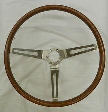 1967 Corvette Sting Ray Teak Wood Grain Steering Wheel IN STK