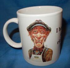 "Leanin Tree Mug ""I Had a Choice of Being Rich or Good Lookin!"" Coffee Cup Mug"