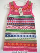 Baby Gap Pink Fairisle Sweater Tank Dress Girl Size 12 - 18 months NWT - Winter