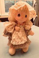 "Applause Vtg 1985 Precious Moments Cloth Doll ""Patty"" Artist Samuel Butcher 15"""