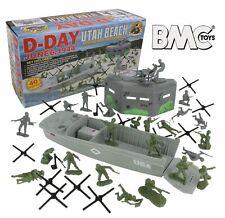BMC D-Day WWII Utah Beach Playset