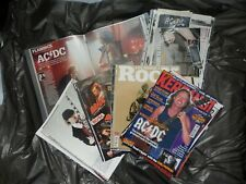 AC/DC - Clippings / Cuttings / Articles Collection