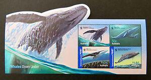 Australian Decimal Stamps: 2006 Whales Down Under WWF Mini Sheet MNH