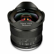 7Artisans 12mm For / 2,8 for Fuji X Ultraweitwinkel Manual Focus