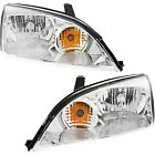 Headlight Set For 2005 2006 2007 Ford Focus Left And Right With Bulb 2pc