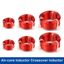 08mm Air Core Inductor Crossover Coil Oxygen Free Copper Audio Speaker 01 43m