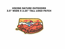 Asilda Store Life of Adventure Embroidered Sew or Iron-on Patch NEW