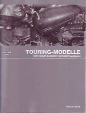 HARLEY Wartungshandbuch 2009 Touring Modell Buch DEUTSCH FLT FLH Anleitung Neu