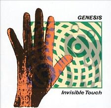Invisible Touch Genesis Audio CD
