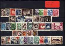 FRANCE Année Complète 1951 oblitéré YVERT n° 878/918