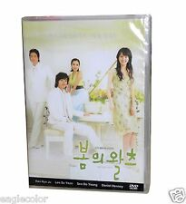 Spring Waltz Korean Drama (4DVDs) Excellent English & Quality - Box Set!