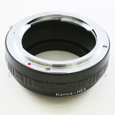 Konica AR mount lens to Sony E mount NEX adapter A7 A7R NEX-5T 7 6 A5000 A6000