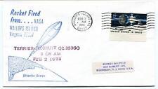 1973 Wallops Island ROCKET FIRED Terrier Recruit Q2.26360 WFF Goddard Base NASA