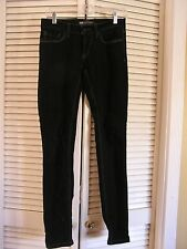 Levi's 524 Super Low Dark Wash Skinny Stretch Blue Denim Jeans Women's Size 3