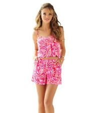 Fresh from Lilly Pulizter Pretty Pink Pout Mango Salsa Ivy Set Size 10 NWT
