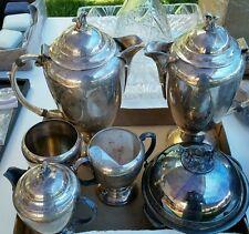 Empress Art Deco Silverplate Set