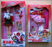 Magic Knight Rayearth SEGA Action Figure Doll + Outfit Set New DISCONTINUED ITEM