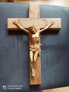 Wunderschönes Kruzifix Holz Jesus am Kreuz