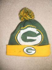 GREEN BAY PACKERS NFL FOOTBALL WINTER HAT CAP POM  POM NEW ERA CLASSIC NEXT YEAR