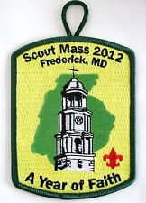 National Capital Area Council (MD) 2012 Scout Mass Pocket Patch  BSA