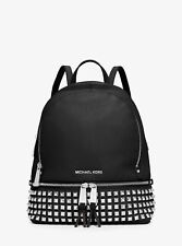Michael Kors Woman Bag Black MD Pyr Stud Backpack Art 30s5sezb5l 21-001 A18
