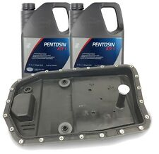 OEM ZF Automatic Transmission Filter Kit & Oil Pan with 10 Liters Trans Fluid