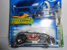 Hot Wheels (2003) Deuce Roadster w/Atomix Vehicle Flying Aces Series #077
